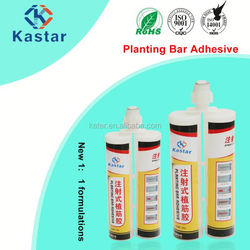 alkali-resistant chemical anchoring adhesive with special glue gun