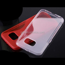 mobile phone S Line TPU cover case for Samsung Galaxy S6 Edge