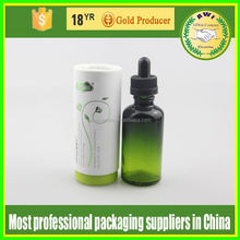 cosmetic glass packaging for facial oil