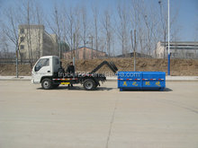 Guaranteed 100% Factory Sale Cheap FOTON roll on roll off garbage truck
