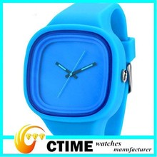 2014 New Arrival Cheap Wristwatches, Jelly Colorful Wristband Silicon Watches for Women