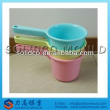 long handle water bailer mould, plastic bailer mould, kitchen ware mould