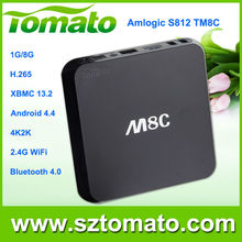Android World TV Box Android 4.4 Quad Core Amlogic S812 Gaming PC Junction Russian Internet TV Box