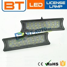 No Error Canbus 1.8w 12v Led License Plate Lamp Plate For Hyundai