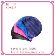 customized logo printed waterproof silicone swimming cap