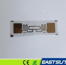 ISO18000-6c passive uhf rfid tag wet inlay,uhf label with alien aln 9540 special offer