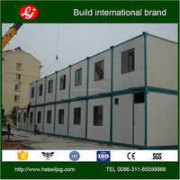 low cost and High quality 20'feet portable container house with 100mm EPS sandwich panels