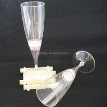 Decoration Transparent Goblet LED Champange Cup