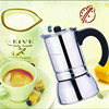 6 Cups wholesale induction bottom Electric Italian Coffee Maker