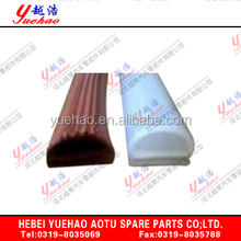 ISO16949 certificate EPDM extruded anti-stick waterproof car seal with high quality rubber YH-QC-024