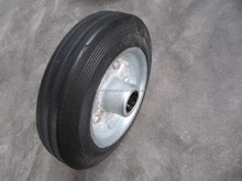 solid rubber wheels with 6inch 160/40-80 used for caster with good quality products
