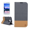 Factory Price Wallet Style Leather Cheap Case for Samsung Galaxy S6 Active with Card Slots