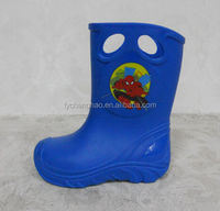 2014 fashion boys new style PVC rain boots