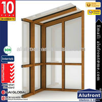 Aluminium Wood Clading Windows and Doors System
