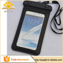 High quality universal size PVC material waterproof bag for mobile phone