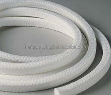 China TENSION Brand Squre Non Asbestos PTFE Gland Packing Sealing Material Manufacturer