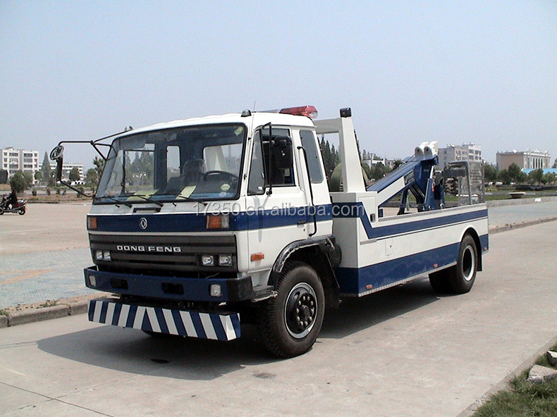 Hot Sale Dongfeng 5 Ton Used Wrecker Tow Trucks For Sale