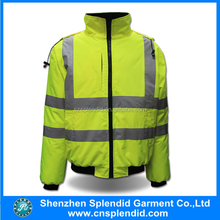 wholeslae safety clothing hi vis waterproof winter work suit