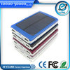 10000mah Colorful laptop solar charger with dual usb for travelling