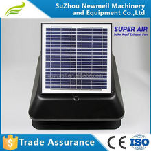 high efficiency good service soalr panel 14inch 30w solar wall mount attic fan for home use