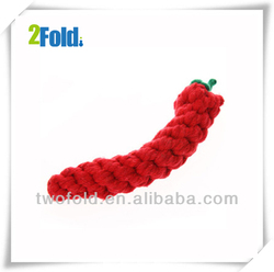 Hot Pepper Shaped Red Mini Rope Cat Toys