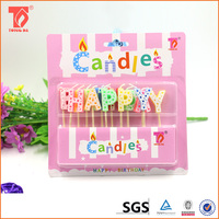 Fancy cheap candle alphabet party candles