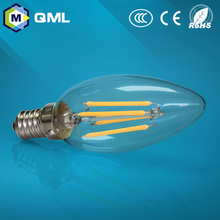IC driver dimmable 2w 4w e14 filament led candle bulb housing use