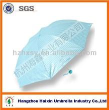 Cute Spots Fashion Preal Shining UV Protection Umbrella
