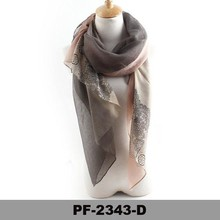 Hot sale 2015 new fashion colourful spring summer cheap scarf viscose scarf for lady