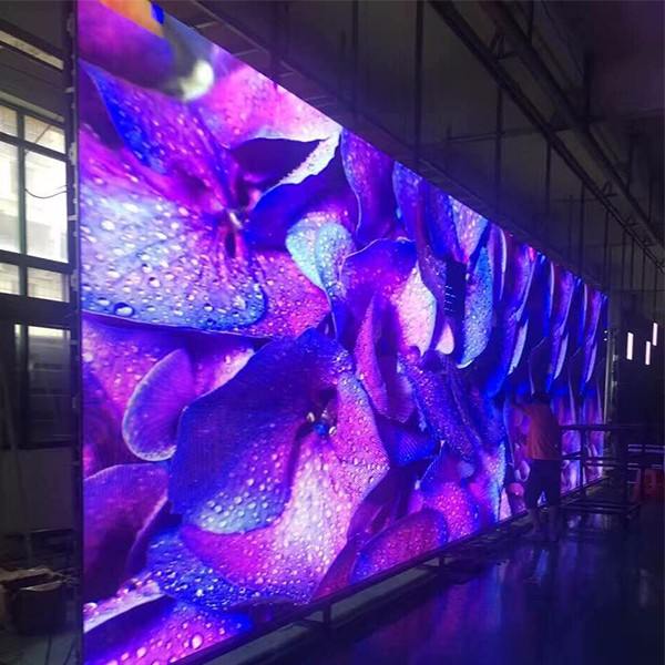 Tamanho personalizado Full color p4 interior levou a exposição
