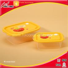 keep freshing box 2pc/ctn mirconwave plastic food container