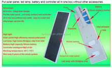 TANFON New quality Quality China 12V DC 60W 40W powerful integrated solar led street light and expoter LED home lamp