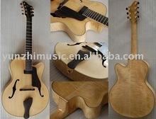 pulgadas 17 7 cuerdas de guitarra de jazz hecho por trabajo hecho a mano