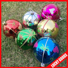 wholesale christmas ball for outdoor indoordecoration