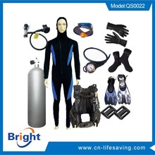 Scuba diving equipment, swimming set, diving set
