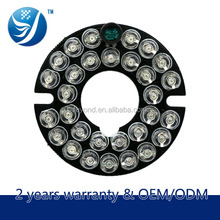 Long life best price led panel light infrared lamp panel for dome CCTV Camera Epistar lamp wick