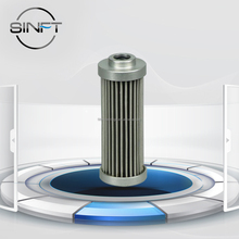 SINFT Filter High Filtration Efficiency Customized Hydraulic Oil Filter