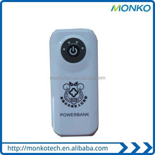 Factory Wholesale New Design Mobile Smart Power Bank charger travel charger