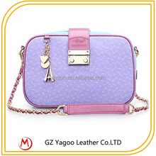 Floral Shoulder Bag Newest Artificial PU Bags for Teenagers Girls