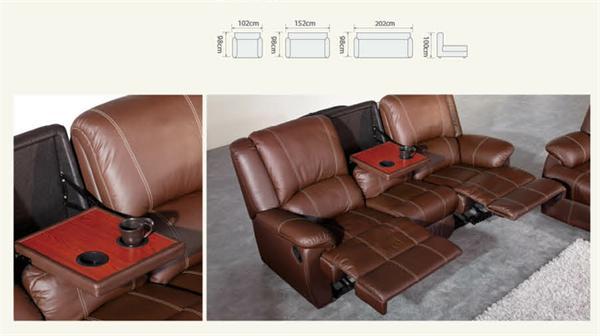 V 5140 divano in pelle mobili di design italiano divani e divani ...