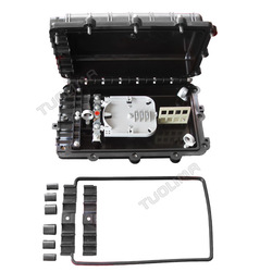 N Tuolima FTTH horizontal outdoor 1:16 plc splicing connect closure