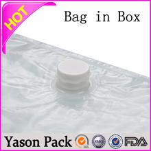 Yason liquid filling sealing plastic bag aseptic bag in box bag in box pouches