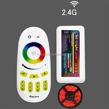 led strip 4 zone remote control wireless smart color changed full touch led controller wifi solar controller m-7