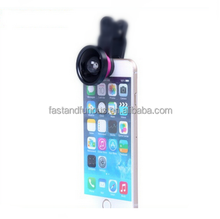 wholesale universal clip mobile phone 0.4x super wide angle camera lens high quality no vignetting