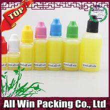 colored PE plastic bottles with dropper 10ml from Amanda