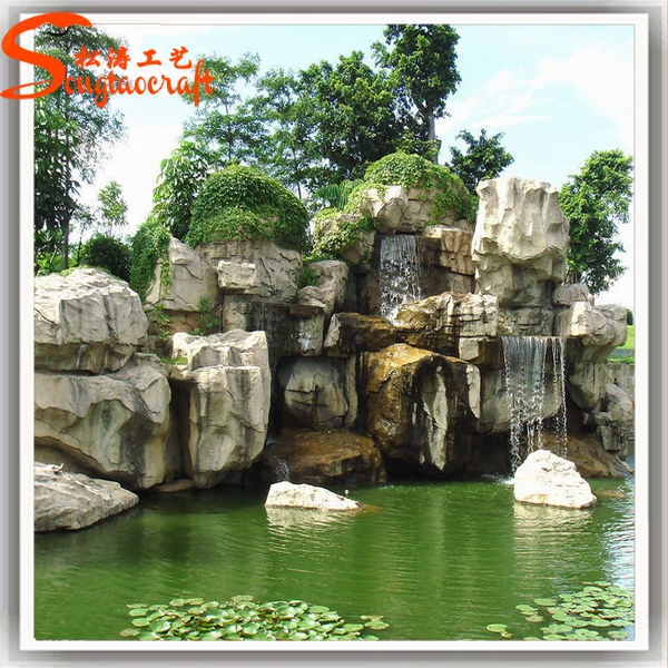 2015 hot sale new style high durability decoration china for Artificial pond in garden