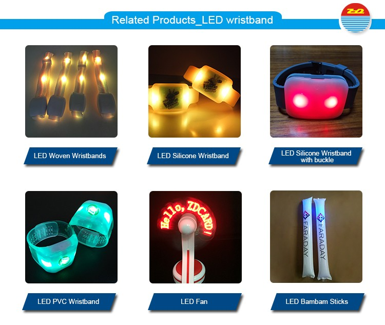 Related Products_LED wristband