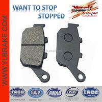 good quality brake pads for kawasaki z750;brake pad for honda nc700/cbr400;brake pad for KAWASAKI z750