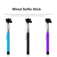 Extendable Hand Hold Monopod Z07-5S Selfie Stick With High Quality For Smartphones