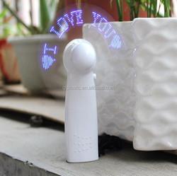 USB LED Flashing Gift Fan With Colorful LED Lights